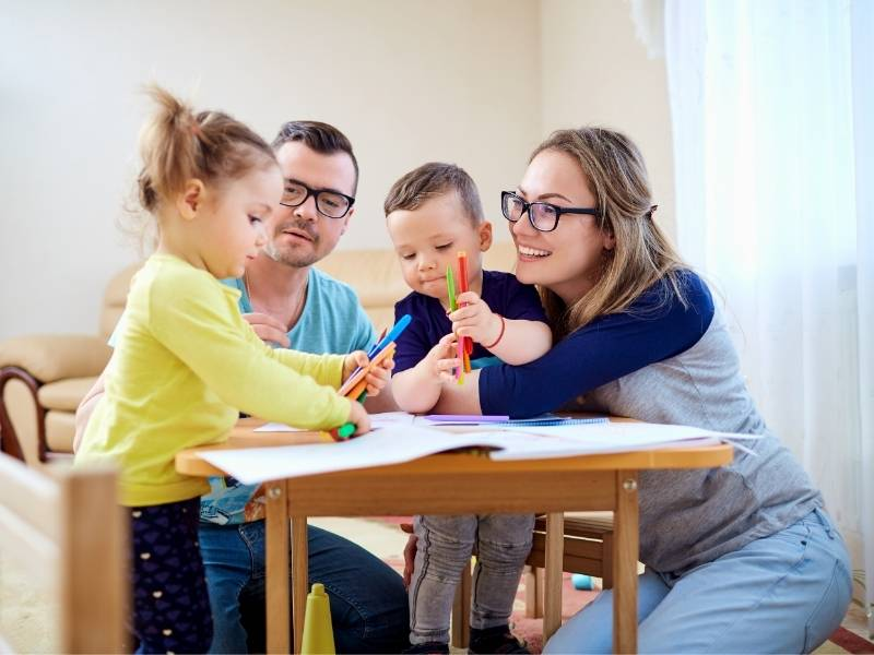 Attività genitore bambino